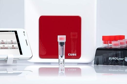 CRP CUBE-S - Dispositivo de prueba rápida (incluye 32 pruebas ...