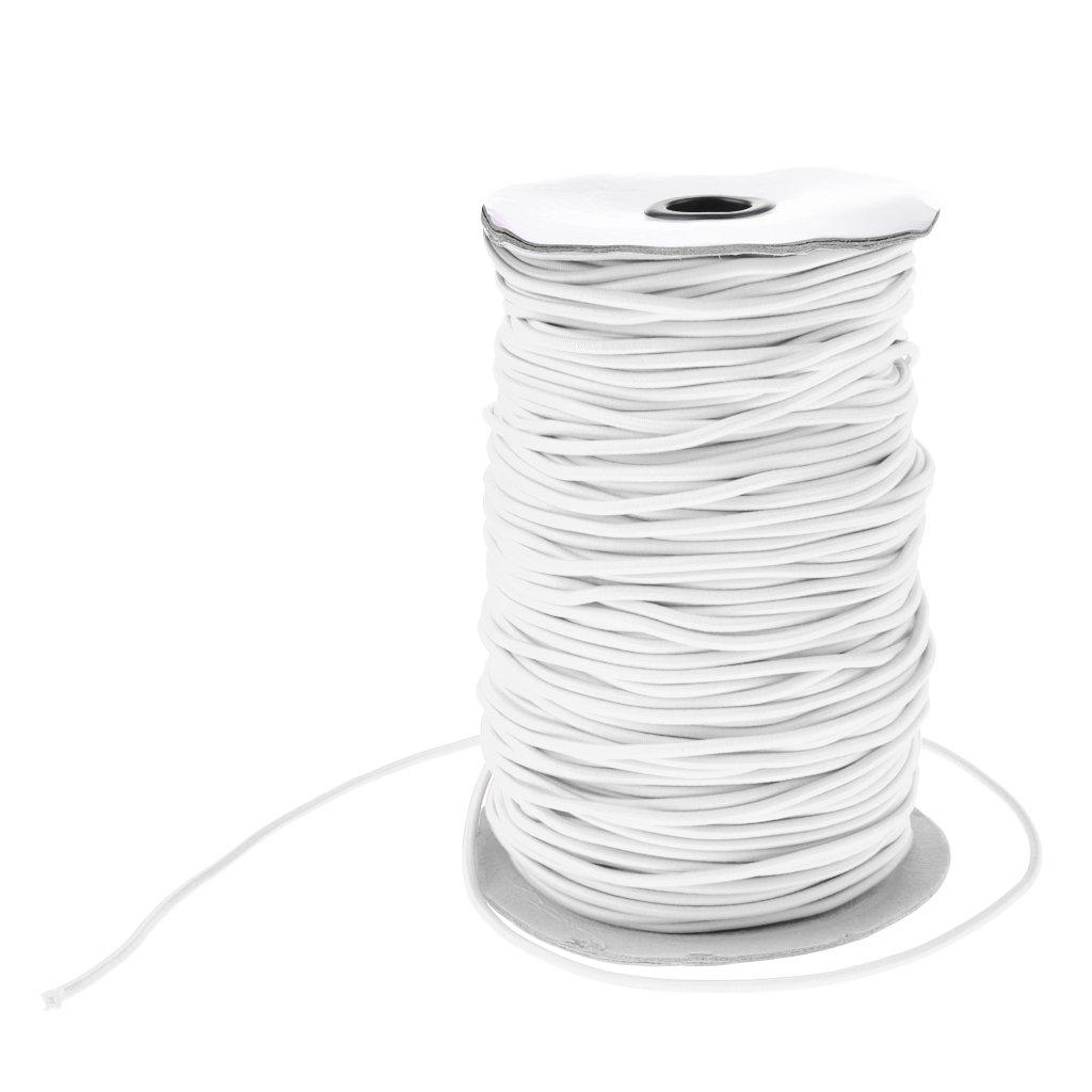 MagiDeal Corde /Élastique Bungee Corde de Choc Resistance UV Cordon Remorque Bateau C/âble Barre de Toit 2mm
