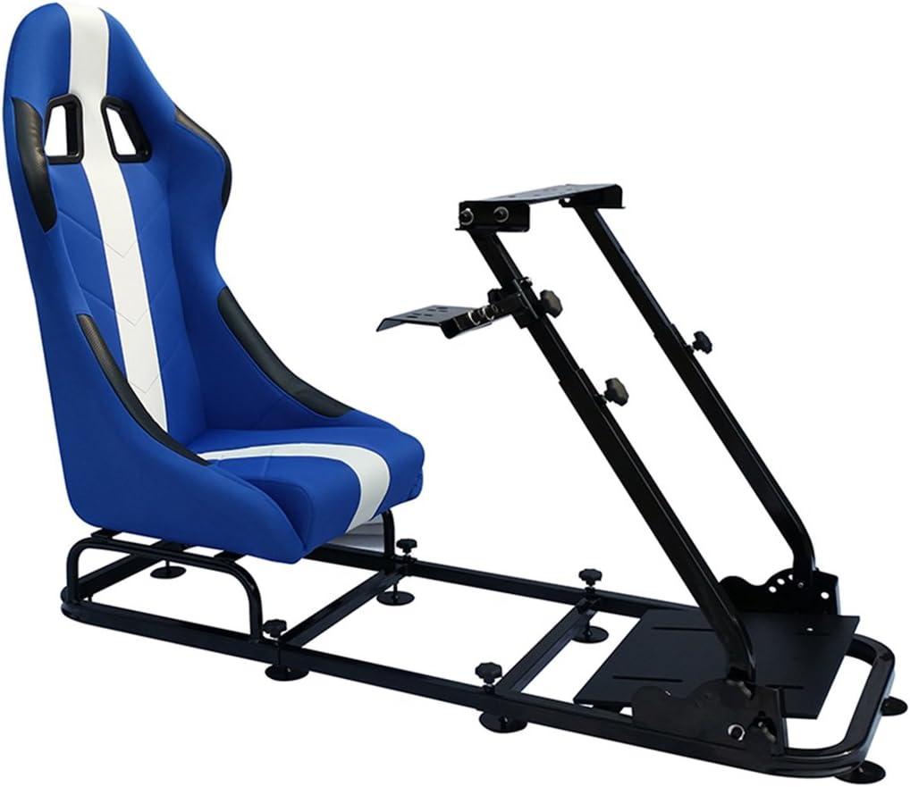 Fk Automotive Game Seat Spielsitz Für Pc Und Spielekonsolen Stoff Blau Weiß Games