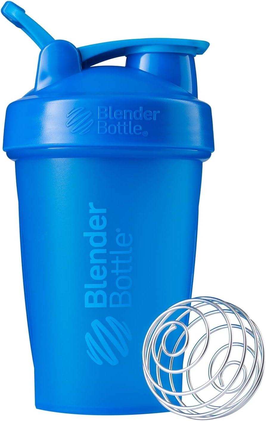 BlenderBottle Classic Loop Top Shaker Bottle, 20-Ounce, Cyan/Cyan