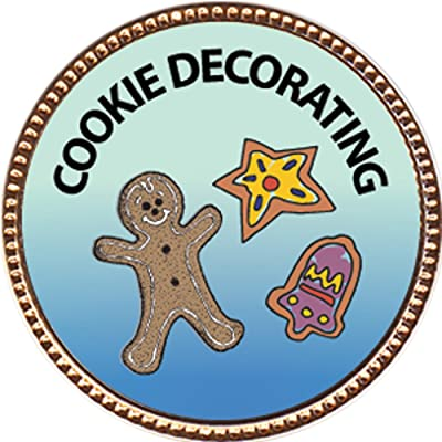 Keepsake Awards Cookie Decorating Award, 1 inch Dia Gold Pin Culinary Arts Collection: Toys & Games