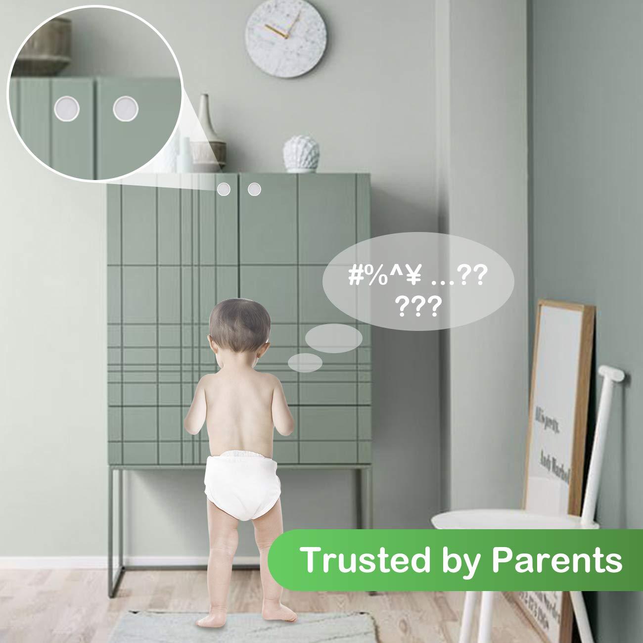 22 Schl/össer+3 Schl/üssel+2 T/ürsicherung COSYLAND Baby Sicherheit Magnetisches Schrankschloss unsichtbare Kindersicherung f/ür Schrank und Schubladen ohne Bohren und Schrauben