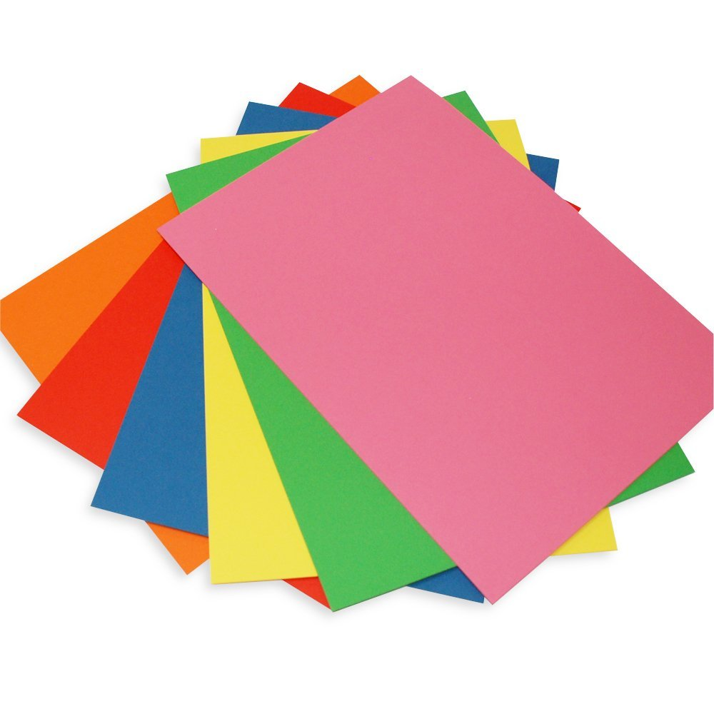 Craft UK 281 C6 Card and Envelope pack of 50 - Mixed Bright