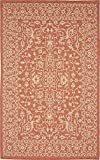 Unique Loom Outdoor Collection Terracotta 5 x 8 Area Rug (5' x 8')