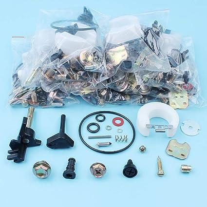 Ants-Store - 10Pcs/lot Carburetor Repair Rebuild Kit For