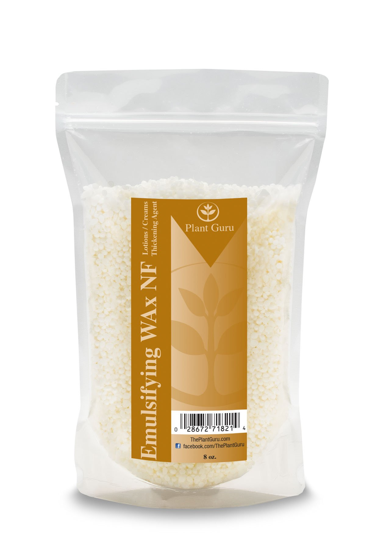 Emulsifying Wax NF, Non-GMO Premium Quality Polysorbate 60/ Polawax 8 oz.