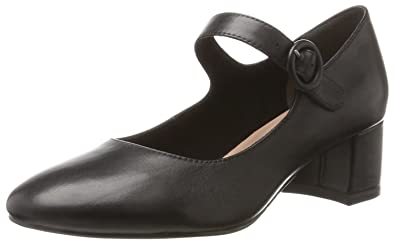 1f421f5b3d25 Tamaris Damen 24314 Pumps, Schwarz (Black Leather), 38 EU  Amazon.de ...