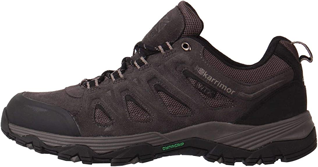 Karrimor Hombre Merlin Low Wtx Zapatillas Impermeable De Senderismo Trekking Carbón 40 2/3 EU: Amazon.es: Zapatos y complementos