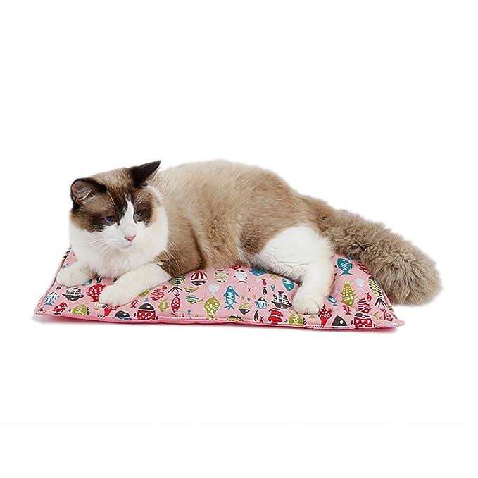 KUSOOFA Mantas para cama Reutilizable Impermeable lavable Cojín para mascotas Para perro, gato Ideal para usar en casa o en transportistas (Azul): ...