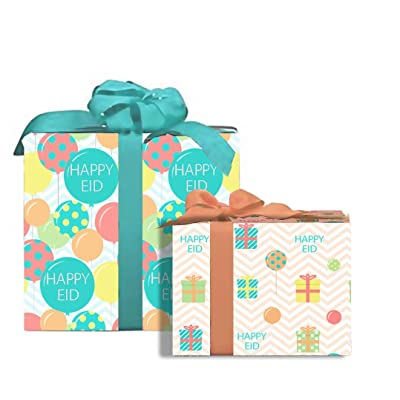 Eid Party Gift Wrap (2 Sheets): Toys & Games