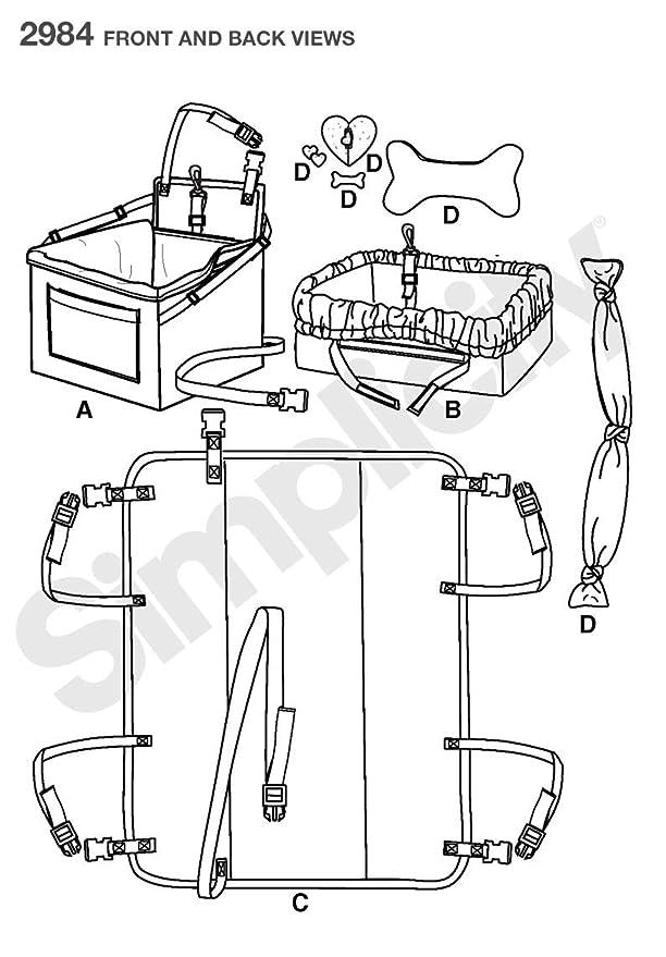 Amazon Com Simplicity Designs By Robin Greenwood Pattern 2984