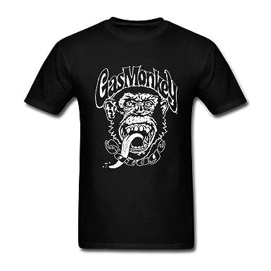 100% de satisfaction nouveaux prix plus bas remise chaude Gas Monkey Garage Men's Gas Monkey Big Logo T Shirt