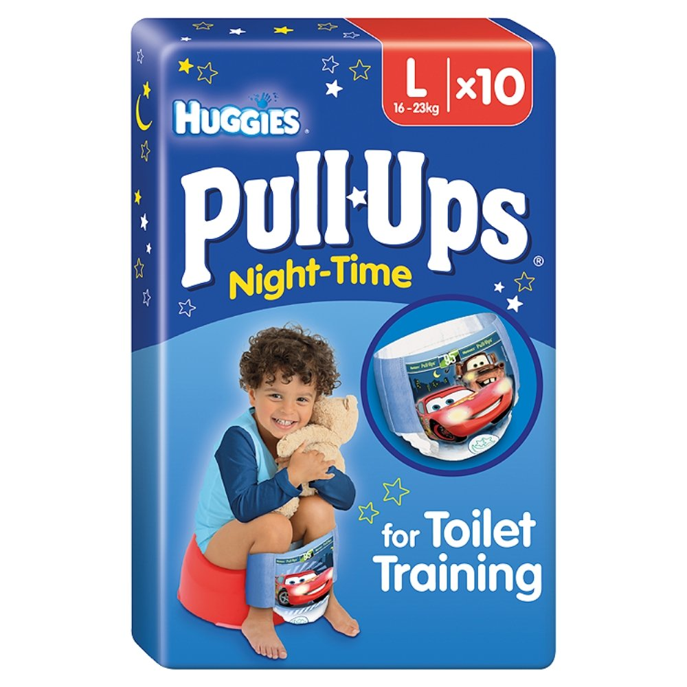Huggies Pull Ups Night Time Boy Potty Disposable Pants 105449461