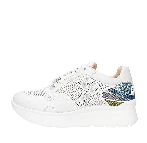Donna E Gattinoni 6042 40Amazon Borse 01 itScarpe Bianco Sneakers zjUGqVMpLS