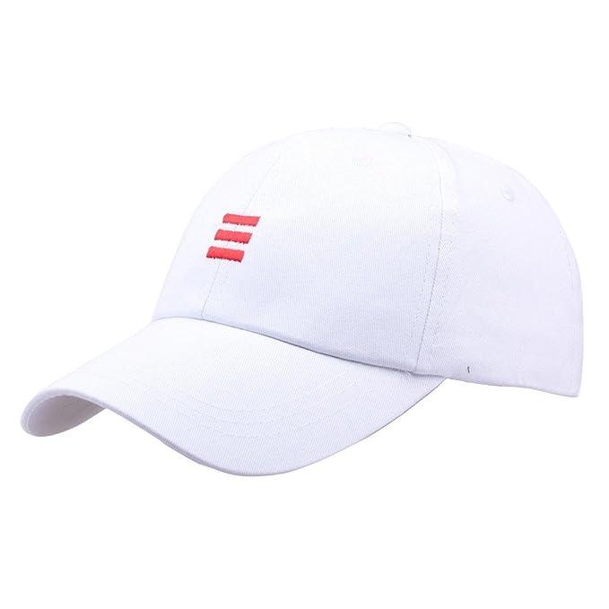 DEELIN Sombrero para Mujeres Hombre Color Sólido Sombreros Hip-Hop ...