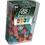 TIC TAC Spender Box with 60 Mini Boxes (Each 3.9 Grams) Liliput, Flavours : Orange, Mint, Peach, Peppermint. by Ferrero