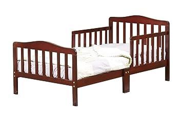 newest fd866 d4b5a Amazon.com: Orbelle 3-6T Toddler Bed, Dark Cherry: Kitchen ...