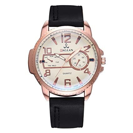Longra Relojes clásicos para Hombres Relojes Deportivos de Acero Inoxidable XR3065 como Regalo