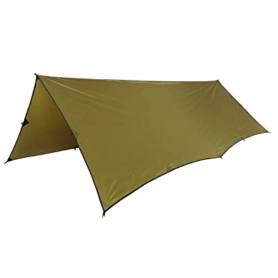 1T étanche d'ombrage pour camping la randonnée (Marron)