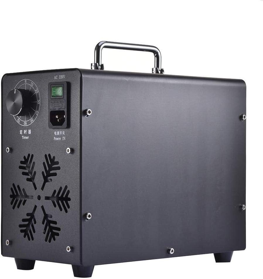 Coches y Mascotas Eliminador de olores Industrial para Habitaciones Temporizador Ajustable generador de ozono purificador de Aire ZSLGOGO 5000mg//H Generador de ozono Profesional Humo