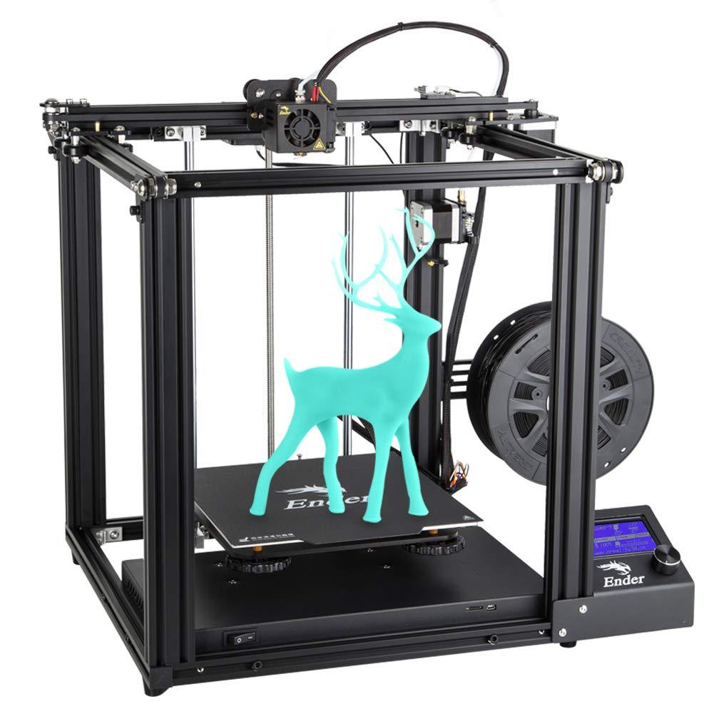 Creality 3D Ender 5 Impresora 3D con Función de Impresión de Currículum y Fuente de Alimentación de Marca