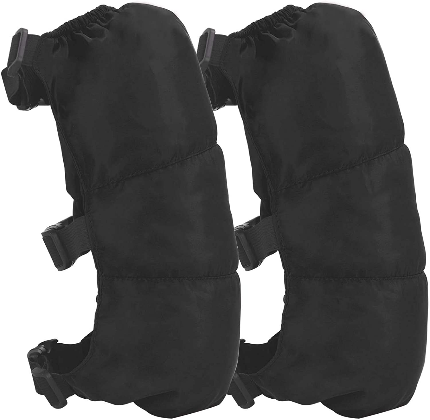 Adults Elder Thicken Adjustable Windproof Cycling Ski Knee Brace Leg Warmer