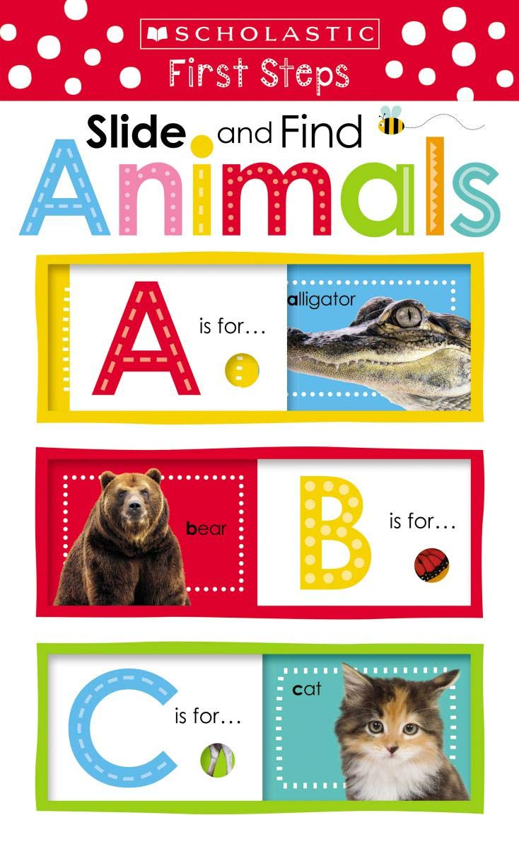 Slide and Find ABC Animals (Scholastic Early Learners: Slide and Find) pdf
