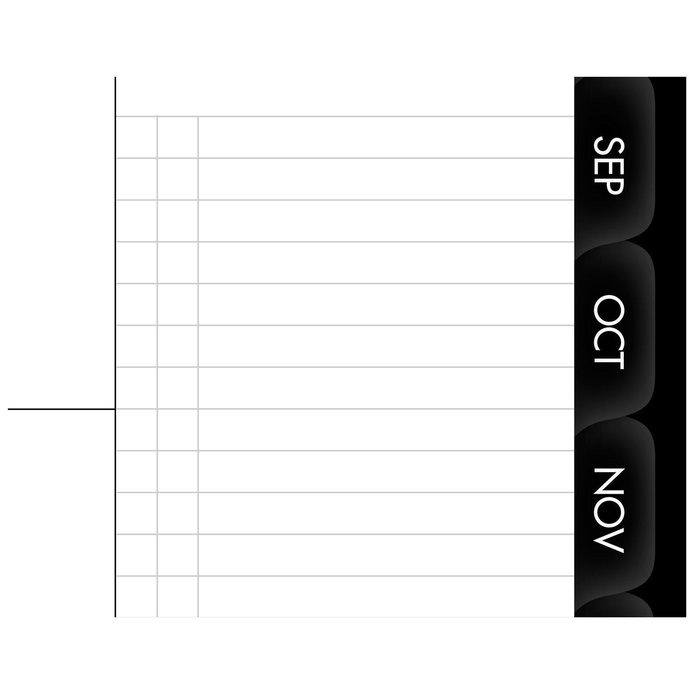Einen Blick Monatsplaner Monatsplaner Monatsplaner Amts Buch 2017, 22,9 x 27,9 cm modernes, schwarz (70–260 x-05) Größe S graphit B01E5T6IG6     | Um Eine Hohe Bewunderung Gewinnen Und Ist Weit Verbreitet Trusted In-und   2dc8ad