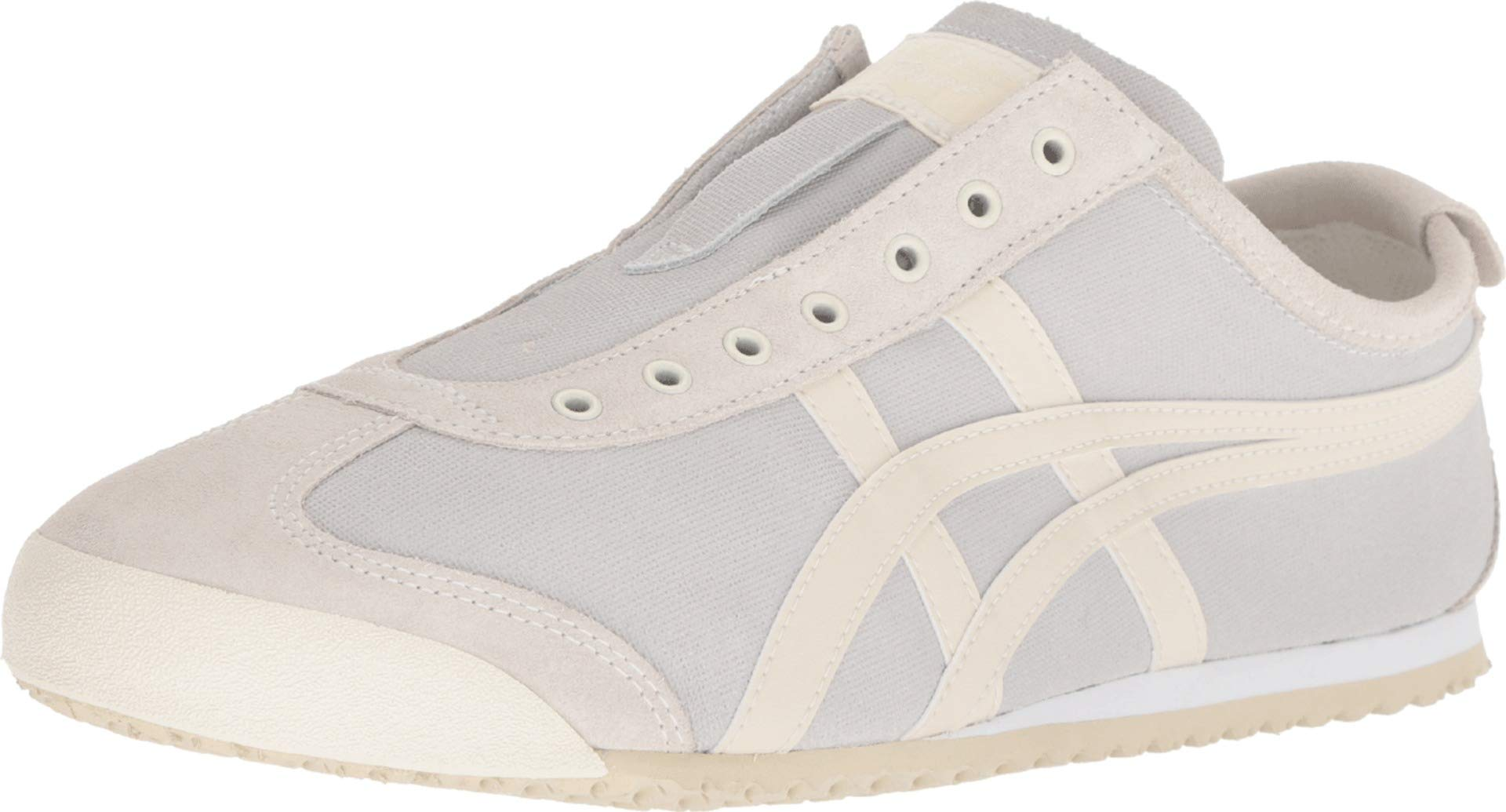 new products 7256b c4771 Onitsuka Tiger Unisex Mexico 66 Slip-on Shoes 1183A042, Cream/Oatmeal, 9 M  US