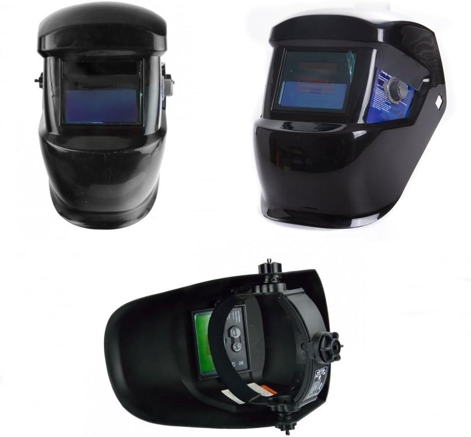 Schwarz rg-vertrieb Schwei/ßhelm Automatik Schwei/ßmaske Schwei/ßschirm Solar Maske Schutzhelm 4 Arten