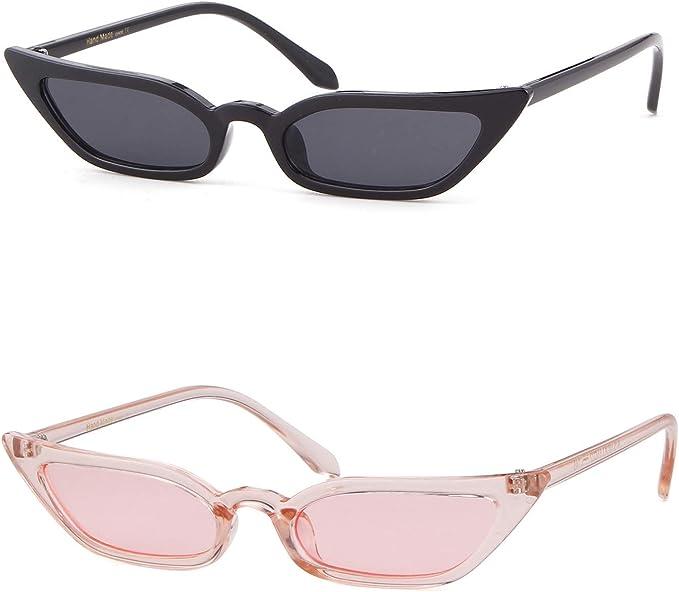 Womens Cat Eye Sonnenbrille Retro Klassiker Designer Vintage Fashion Shades