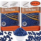 stainless steel microwave Aroma Trees Unisex Hair Removal Hard Wax Beans for Safe, Pain-free Removal, Full-Body Depilatory Wax Beads - Pack of 2 (2 x 300g) Chamomile Flavor