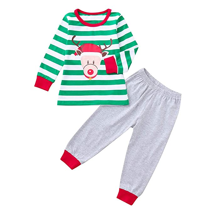 Amazon.com: RDTIAN 0-3 Years Baby Boy Girl Christmas Brother&Sister ...