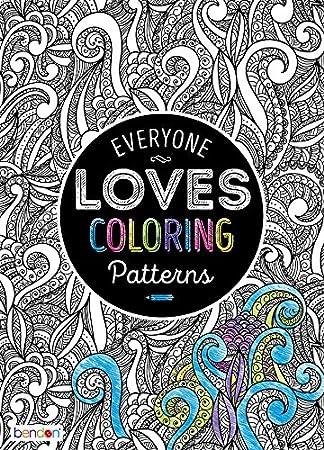 Amazon Com Bendon 90282 Patterns Advanced Coloring Book Bendon
