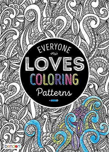 Bendon 90282 Patterns Advanced Coloring Book