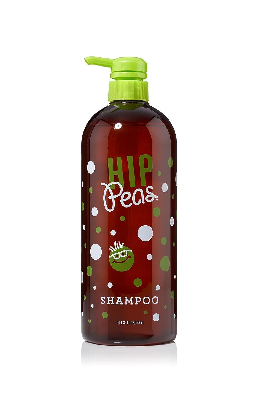 Hip Peas Natural Hair Shampoo, Sulfate Free, All Hair Types (32 fl oz / 946 ml)