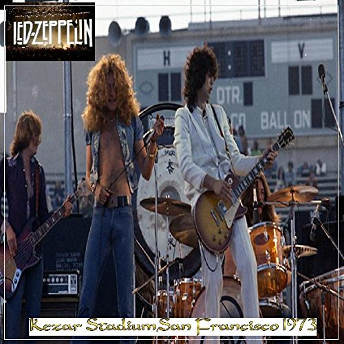 Led Zeppelin - Kezar Stadium,San Francisco 1973 Live, Authorized bootleg,  Import, Original recording reissued, Collector's Edition