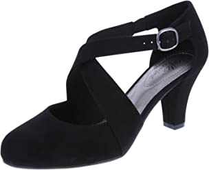 dexflex Comfort Womens Macie Cross Strap Pump