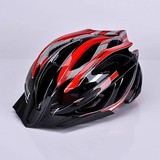 John-L Casco Bicicleta Montaña, Casco De Ciclismo para Adultos De ...