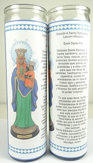 Santa Barbara Africana Lucumi Santeria Mama Mambo Ezili Danto Haitian Vodou Sets De 2 O 4
