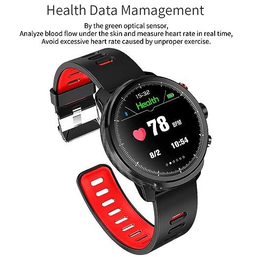 Amazon.com: Kivors Smart Watch IP68 Waterproof Bluetooth ...