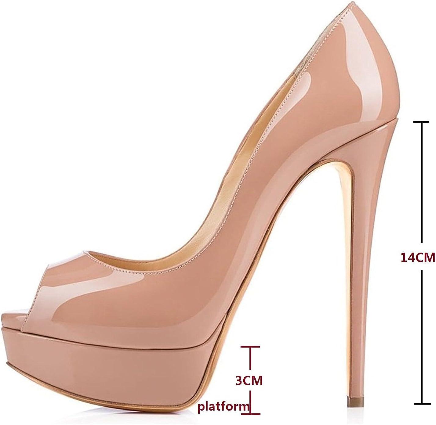 OR ROSE CLAIR PERSPEX Bloc à Talon Haut Talons Peep Toes Sandales Taille