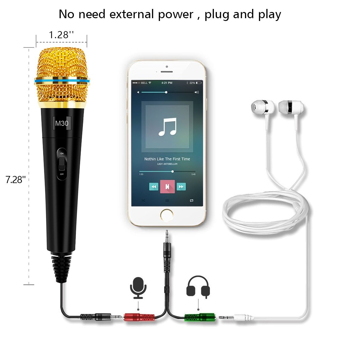 professional condenser microphone recording with stand for pc computer iphone phone android ipad. Black Bedroom Furniture Sets. Home Design Ideas