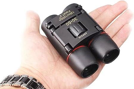 Pequeño ligero plegable compacta Binoculares Paño Bolsa De Transporte Viaje Tamaño de bolsillo