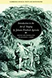 img - for Introduction to the Art of Singing by Johann Friedrich Agricola book / textbook / text book