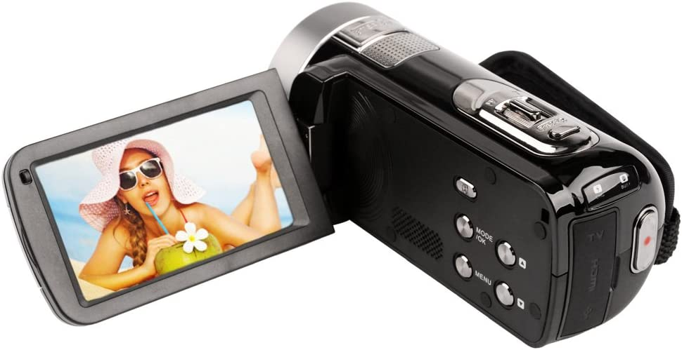 Ckeyin DVR-27H - Videocámara de 20 Mp (pantalla de 3