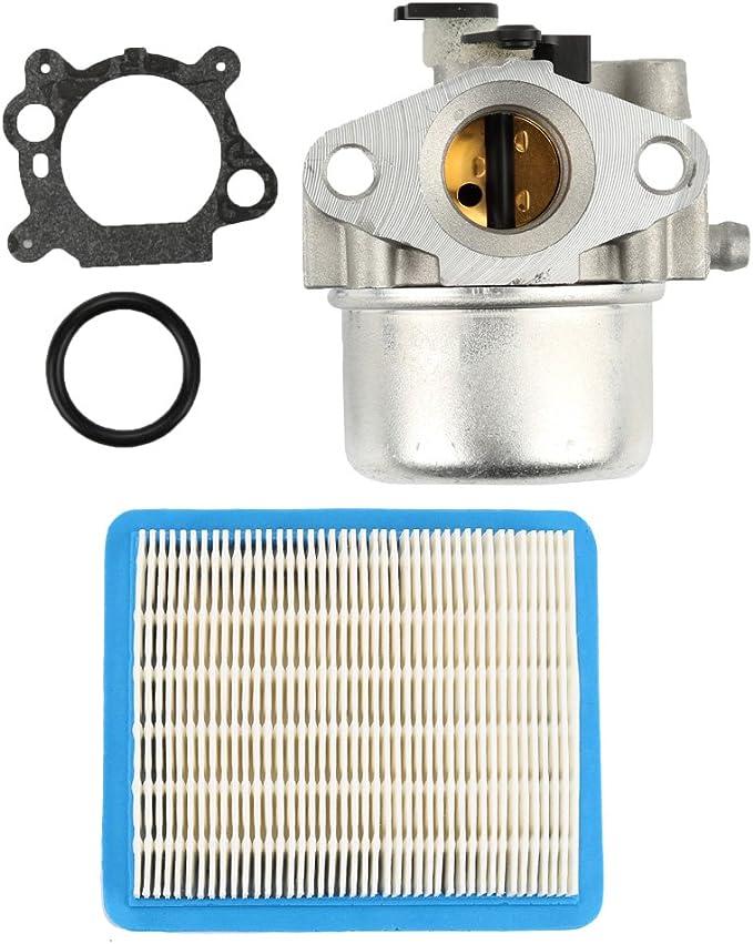 Amazon.com: 799866 carburador con 491588 Filtro de aire para ...