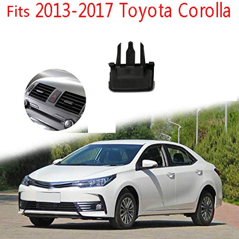 Flushzing Remplacement pour Corolla 2013-2017 Avant Climatisation A//C Air Vent de Sortie Tab Clip Boucle de r/églage