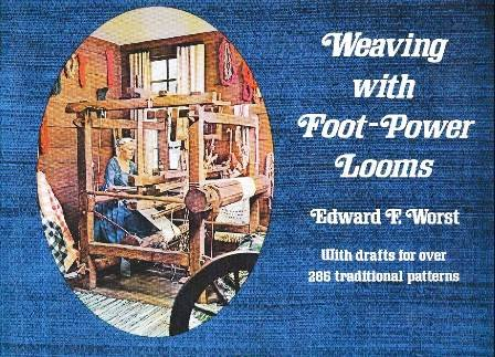 Weaving With Foot-Power Looms