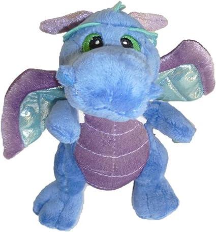 Sprinkles Dragon Blue Aurora Plush Stuffed Animal Toy Cute Cuddly 7 Inches